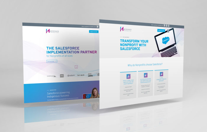 website pages designs for Morphate